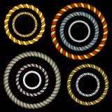 A corda a céu aberto é uma grande decoração para todos os quadros Imagens de Stock Royalty Free