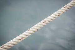 Corda com superfície da água Foto de Stock Royalty Free