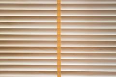 Corda costurada cortinas da madeira da textura foto de stock