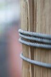 Corda d'acciaio immagine stock libera da diritti