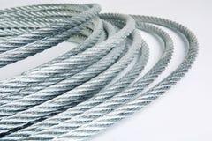 Corda d'acciaio Immagini Stock