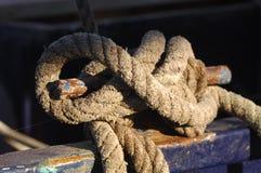 Corda da amarração Fotos de Stock Royalty Free