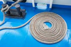 Corda da amarração Fotografia de Stock Royalty Free
