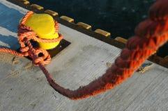 Corda da amarração Fotos de Stock