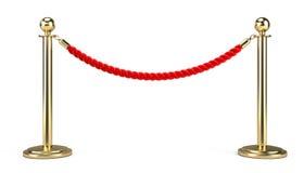 Corda da barreira ilustração do vetor