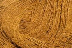 Corda da fibra de coco Fotografia de Stock