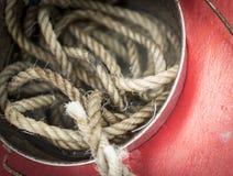 Corda da pesca Imagens de Stock