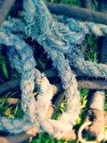 Corda da sarja de Nimes Fotografia de Stock