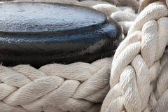 Corda de barco imagem de stock