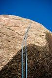 Corda de escalada Imagem de Stock Royalty Free