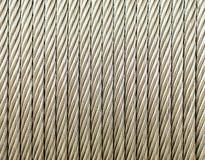 Corda de fio de aço Foto de Stock