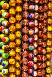 Corda de grânulos colorida Fotos de Stock Royalty Free