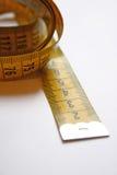 Corda de medição fotografia de stock