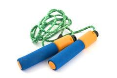 Corda de salto isolada Imagem de Stock Royalty Free