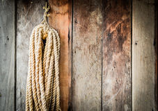 Corda de suspensão. Fotos de Stock