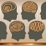 Corda del cervello Immagini Stock Libere da Diritti