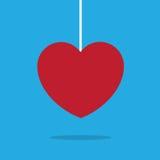 Corda del cuore Immagini Stock Libere da Diritti