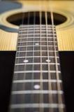 Corda della chitarra Immagini Stock Libere da Diritti