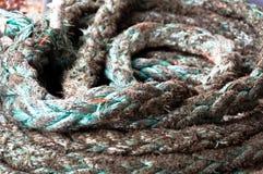 Corda della nave Fotografie Stock Libere da Diritti