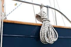 Corda della navigazione-barca Immagine Stock Libera da Diritti