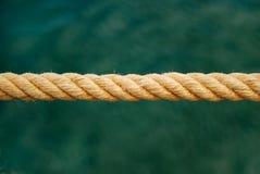 Corda di barca Fotografie Stock Libere da Diritti