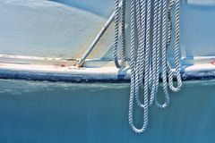 Corda di barca Immagini Stock