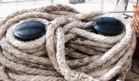 Corda di barca Immagine Stock