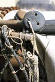 Corda di barche Fotografie Stock Libere da Diritti