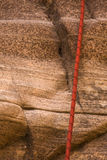 Corda di Canyoneering Immagine Stock Libera da Diritti
