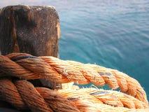 Corda di navigazione Fotografia Stock