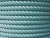 Corda di nylon verde Fotografia Stock Libera da Diritti