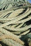 Corda di pesca immagine stock libera da diritti