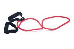 Corda di salto adatta di velocità di addestramento di allenamento di esercizio dell'incrocio del salto della corda Immagine Stock Libera da Diritti