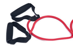 Corda di salto adatta di velocità di addestramento di allenamento di esercizio dell'incrocio del salto della corda Fotografie Stock