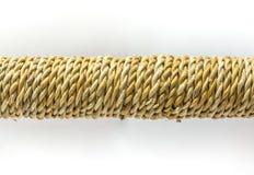 Corda di torsione della fibra della banana Fotografia Stock