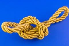 Corda dourada Fotos de Stock