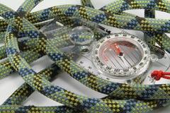 Corda e compasso Foto de Stock