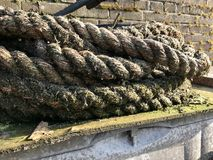 Corda em Netherland foto de stock royalty free