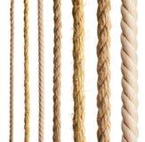 Corda isolata Fotografie Stock Libere da Diritti