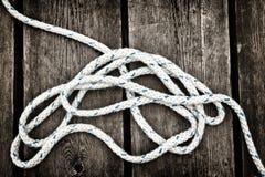 Corda nautica. Fotografia Stock