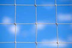 Corda no fundo do céu azul Fotos de Stock Royalty Free