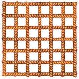 Corda Quadrato delle corde Illustrazione dell'acquerello illustrazione di stock