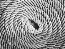 Corda roteata fotografia stock libera da diritti