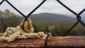 Corda sulla griglia Fotografia Stock Libera da Diritti