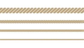 Corda torcida náutica imagens de stock royalty free