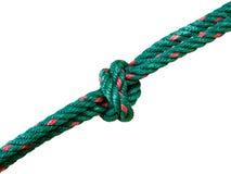 Corda verde foto de stock royalty free