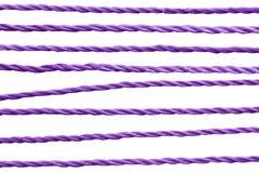 Corda viola. Immagini Stock