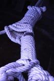 Cordage. Ship cordage in an Andalusian port near Huelva Spain Stock Image
