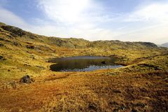 Cordale Tarn Stock Photo