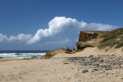 Cordama Bach, Algarve, Portugal Royalty Free Stock Images